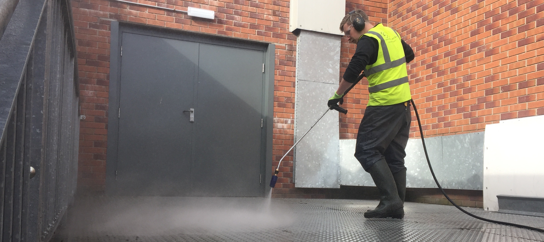 High Pressure washing